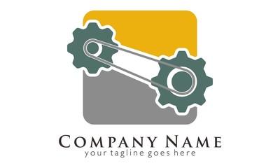 Gear Engine logo vector