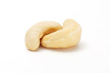 Cashew isolated on white background