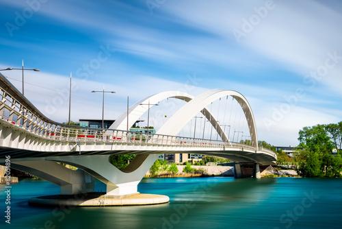 Papiers peints Pont Lyon confluence passerelle Raymond Barre