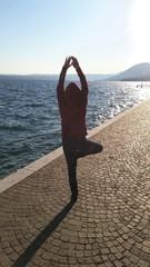 Yoga am See