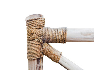 rope circle on the pole