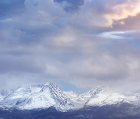 High Tatras Mountains - Gerlach Peak on Cloudy Day