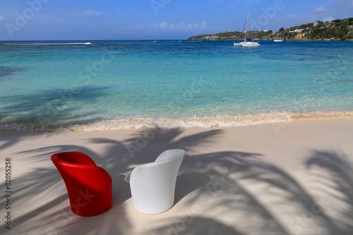 Foto op Canvas Caraïben Guadeloupe - Sainte-Anne