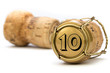 Champagnerkorken Jubiläum 10 Jahre - 82057207