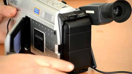 Old Home Video Camera