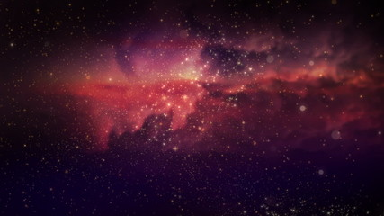 space nebula,universe fly through seamless looped background