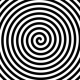 Fototapety Black and white hypnosis spiral