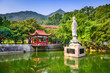 Temple on Drum Mountain in Fuzhou, China - 82058808