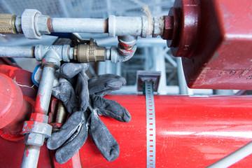 Impianto industriale, fuoco selettivo