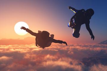 Sport in the sky.