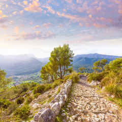 Majorca Puig de Maria Pollenca Pollensa in Mallorca