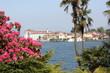 Blick zur Isola Bella am Lago Maggiore im Frühling