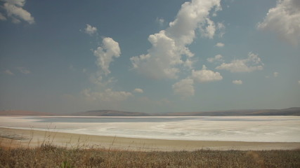 Crimean Salty Lake, Time lapse.