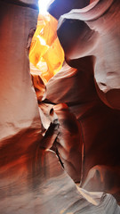 Couleurs du Lower Antelope Canyon