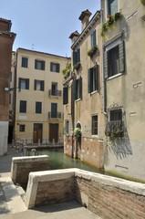 Channel in Dorsoduro, Venice, Italy