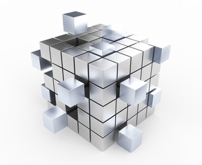 Cubi tridimensionali