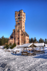 Winterimpression Altvaterturm