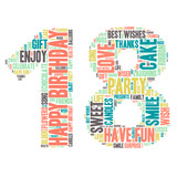 Word Cloud - Happy Birthday Celebration - 18