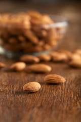 Raw Almonds Macro