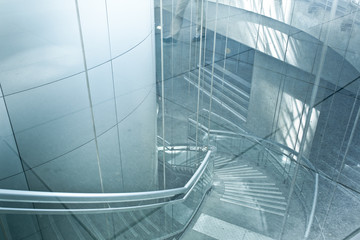 escalier tourne