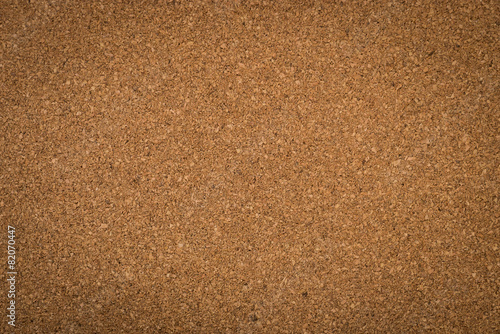 Close up brown cork board texture - 82070447