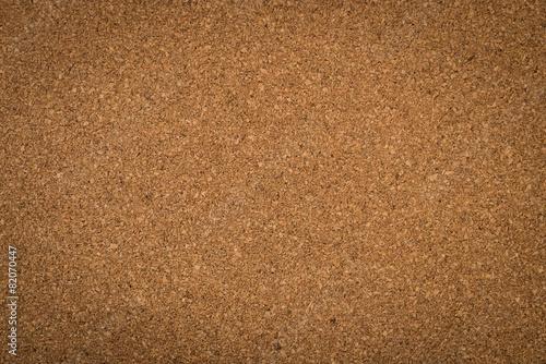 Close up brown cork board texture - 82070447