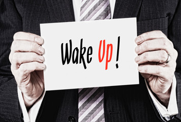 Wake Up Concept