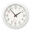 Classic round wall clock with white body - 82073437