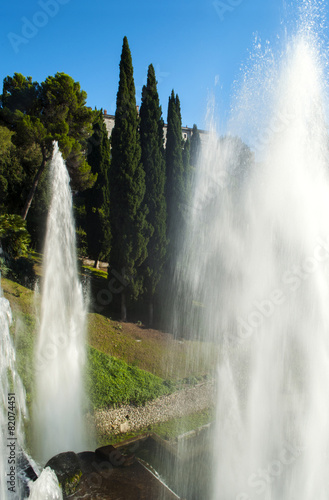 Leinwanddruck Bild Villa d'Este
