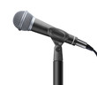 microphone isolated on white background - 82075084