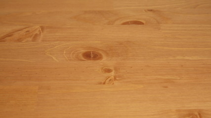 A slider view over a wooden table, for background
