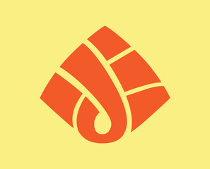 Triangle organic logo