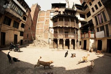 Kathmandu poorest households real view