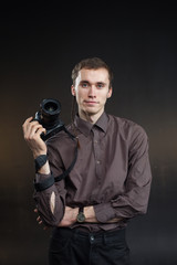 business man photographer