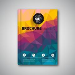 book report geometric style