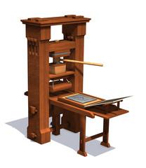 Victorian Printing Press