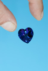 Dropping a Blue Heart