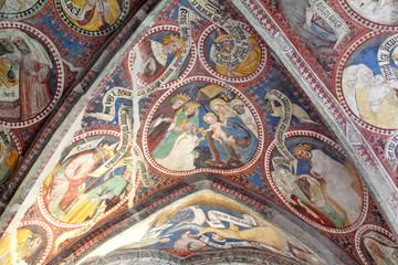 adorazione dei Magi; chiostro del Duomo di Bressanone