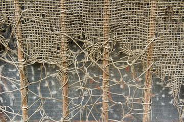 Rusty metal net 4