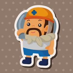 worker theme elements