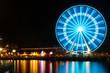 Ferris Wheel in Night, Waterfront - 82082866