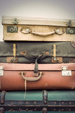 vintage leather suitcases - 82082870