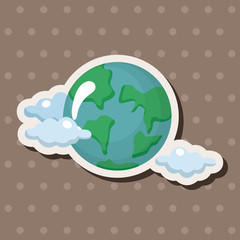 earth stickers