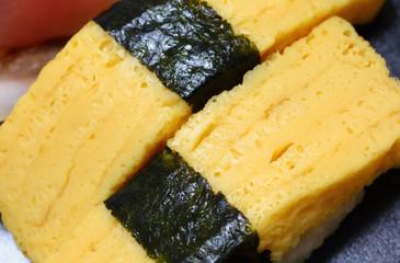 寿司 たまご クローズアップ