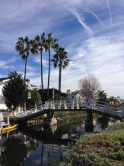 ベニスビーチ 運河の橋