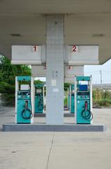 Abandoned gas pump Station
