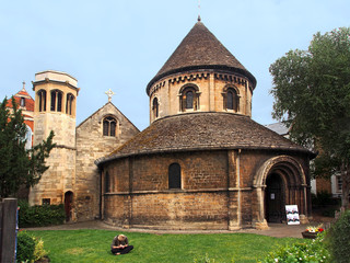 Holy Sepulchre, Medieval Church, Cambridge, England