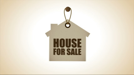 House for sale, Video animation, HD 1080