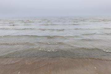 Waves in fog