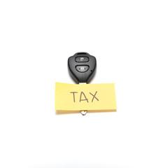 car key tag tax